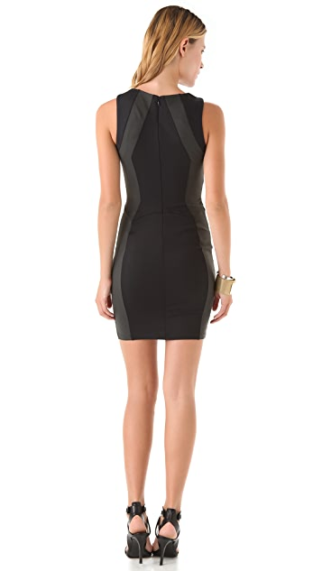 David Lerner Sleeveless Mini Dress