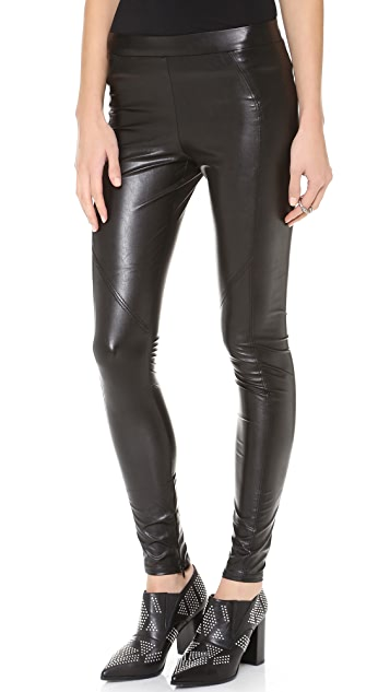 b3b4194201738 David Lerner Faux Leather Leggings | SHOPBOP