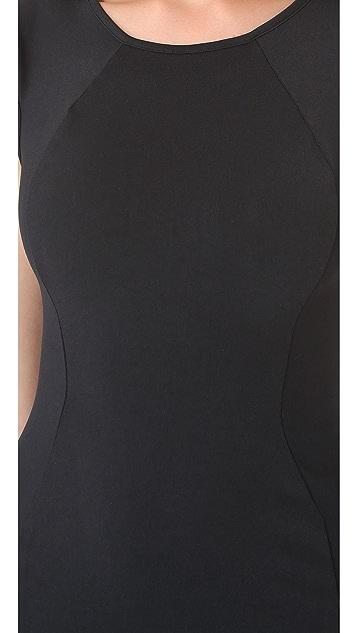 David Lerner Basic Cap Sleeve Dress