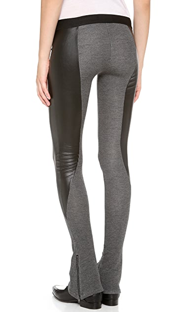 David Lerner The Heistier Flared Leggings