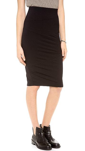 David Lerner Seamed Skirt
