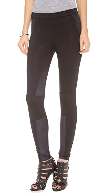 David Lerner Motorcycle Leggings