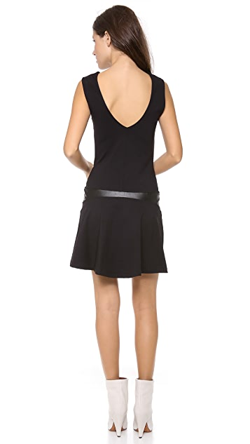 David Lerner V Back Dress
