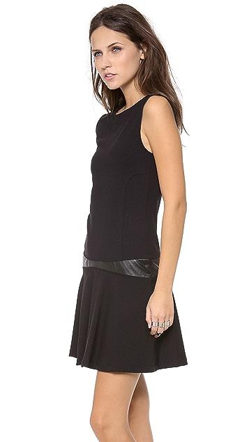 David Lerner V Back Dress