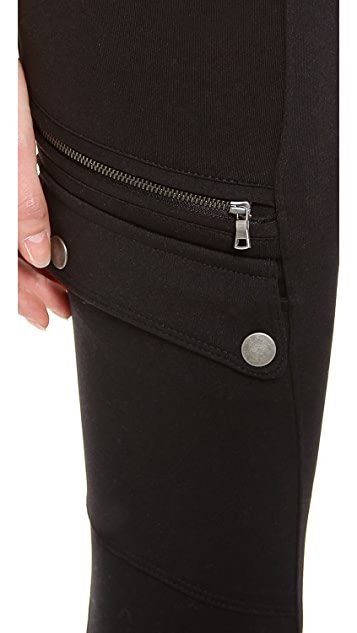David Lerner Cargo Maternity Leggings