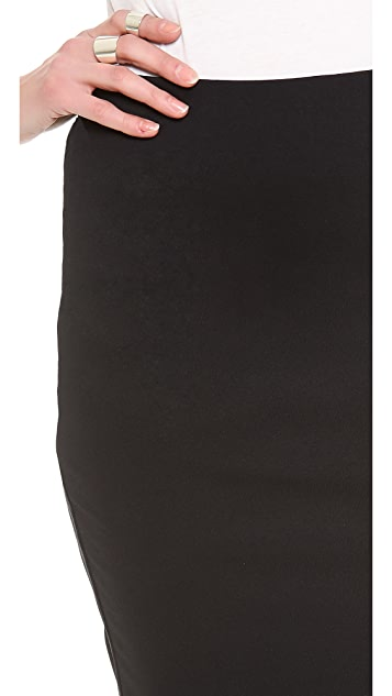 David Lerner Tube Midi Skirt
