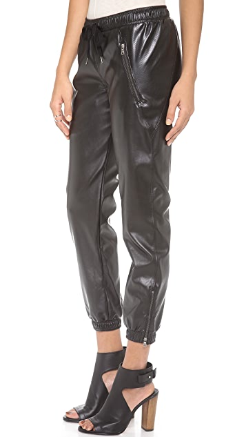 David Lerner Vegan Track Pants
