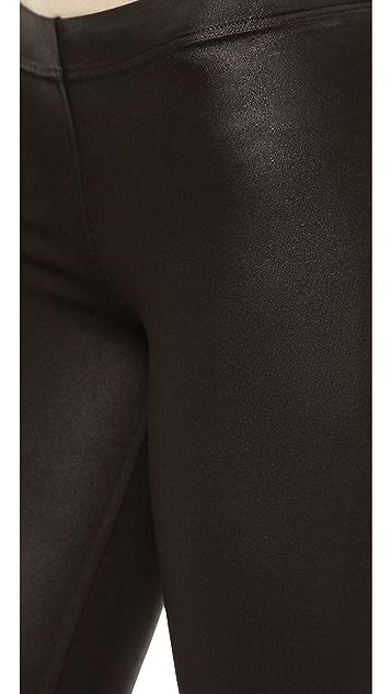 David Lerner Basic Coated Leggings