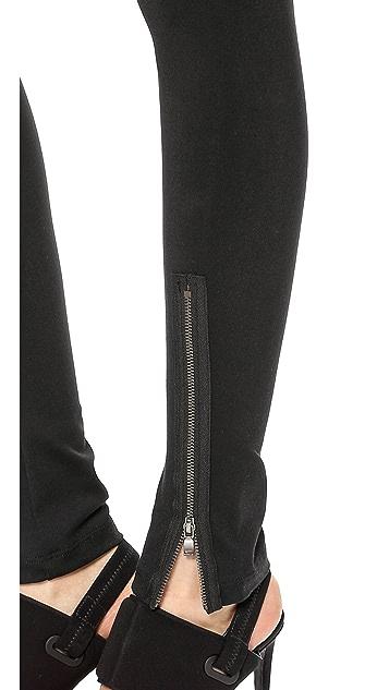 David Lerner Hudson Leggings with Front Zip