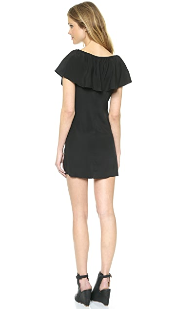 David Lerner David Lerner x Maleficent Ruffle Dress