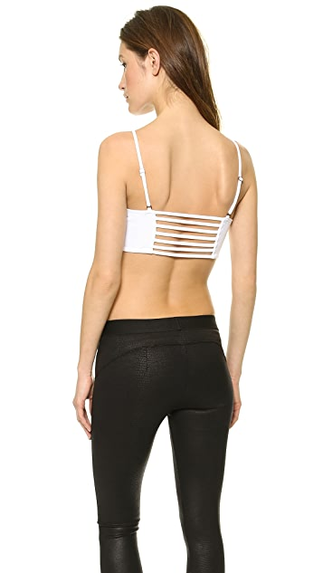 David Lerner Cutout Bandeau Top