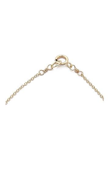 Dogeared Balance Tube Necklace