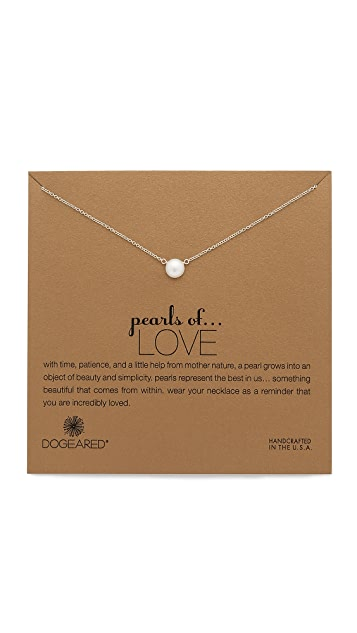 Dogeared Love Necklace
