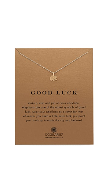Dogeared Good Luck Charm Necklace