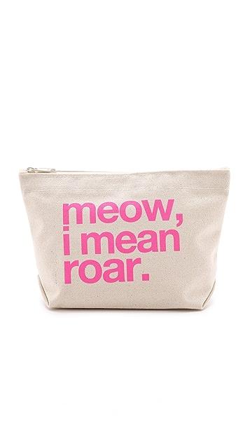 Dogeared Meow, I Mean Roar Pouch