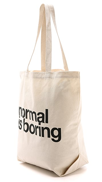 Dogeared Normal Is Boring Tote