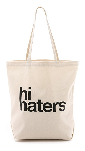 Dogeared Hi Haters Tote