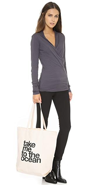 Dogeared Take Me To The Ocean Tote