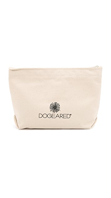 Dogeared I Need Lipstick Pouch