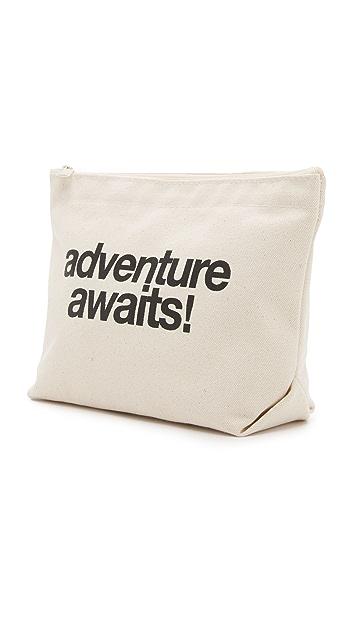 Dogeared Adventure Awaits Pouch