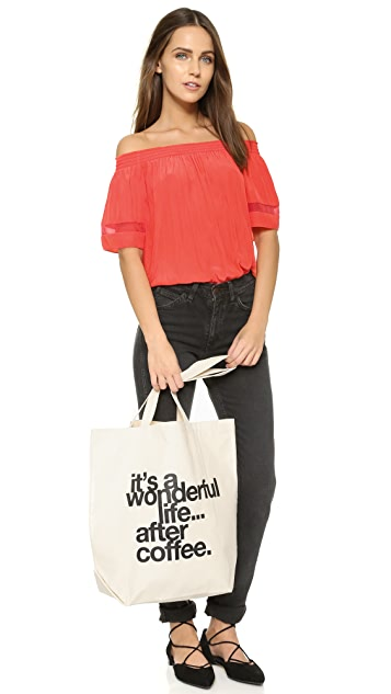 Dogeared It's a Wonderful Life Tote
