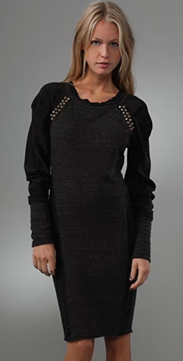 Dolan Tuck Sleeve Dress