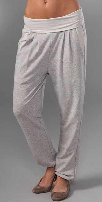 Dolan Left Coast Harem Pants with Fold Over Waist