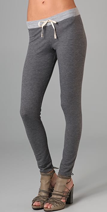 Dolan Tie Front Leggings