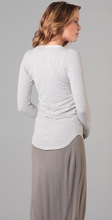 Dolan Long Sleeve Scoop Top