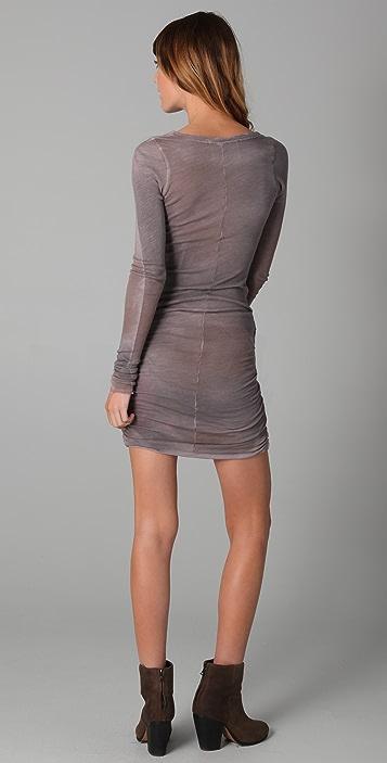 Dolan Ruched Side Dress