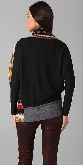 Dolan Collared Blanket Cardigan