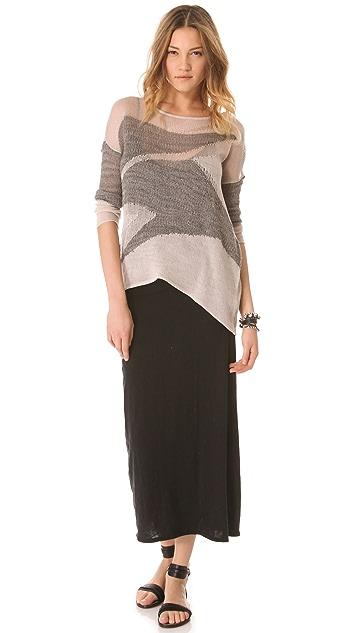 Dolan Layering Maxi Slip Dress