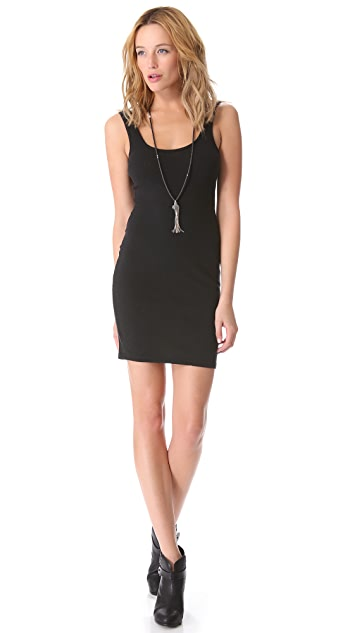 Dolan Layering Slip Dress with Low Back