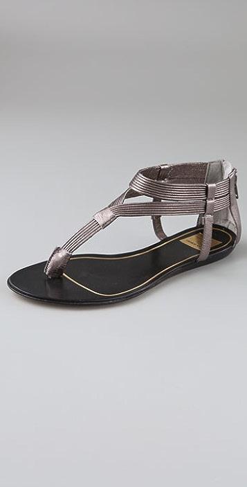Dolce Vita Isaac Ribbed Flat Sandals