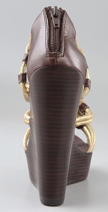 Dolce Vita Niko Tubular Wedge Sandals