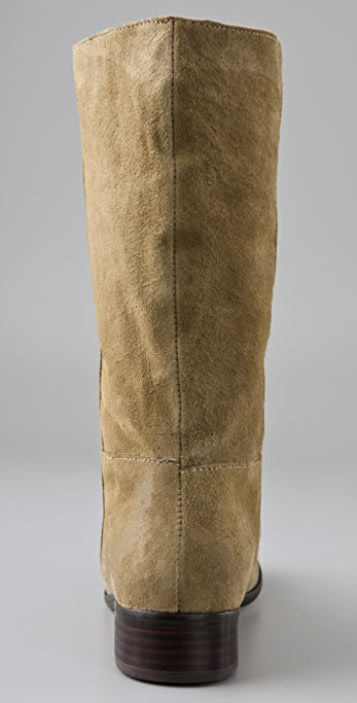 Dolce Vita Dion Suede Flat Boots