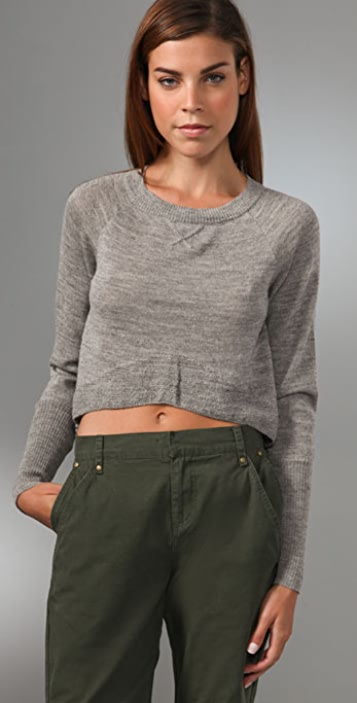 Dolce Vita Baby Alpaca Cropped Sweater