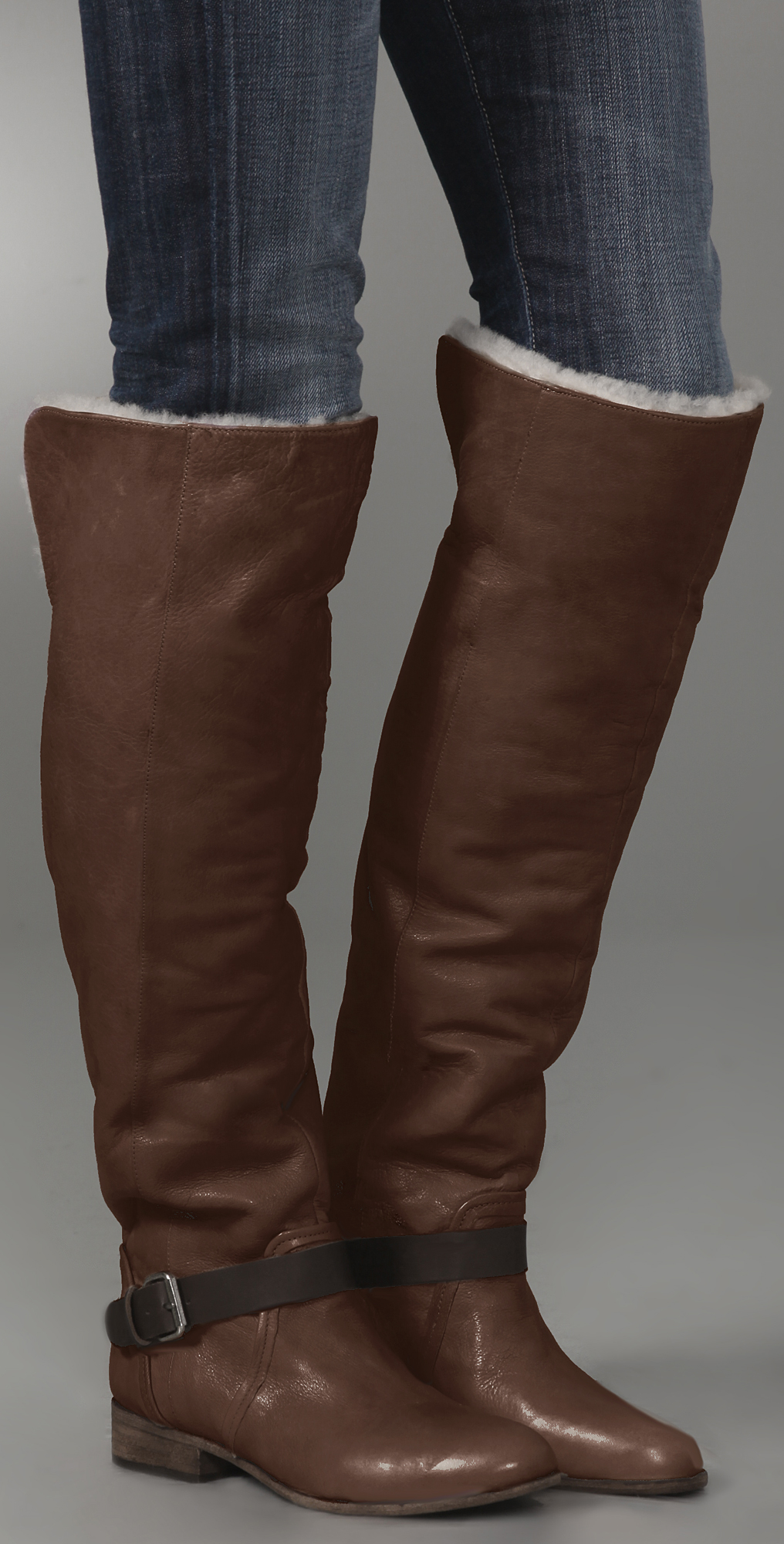 the Knee Shearling Boots | SHOPBOP