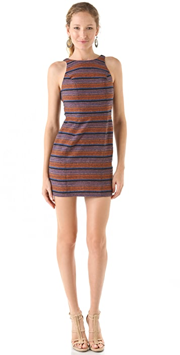 Dolce Vita Colt Striped Mini Dress