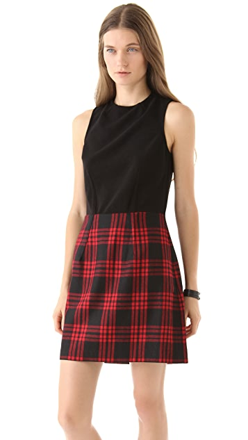 Dolce Vita Lovely Plaid Dress