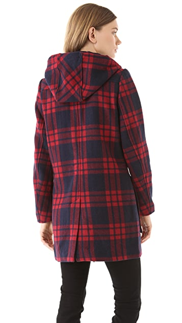 Dolce Vita Timia Plaid Coat