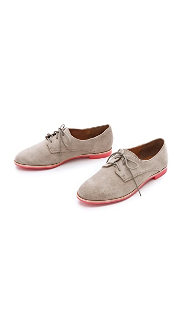 Dolce Vita Mini Suede Oxfords