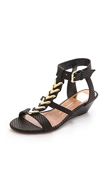 Dolce Vita Helia Low Wedge Sandals