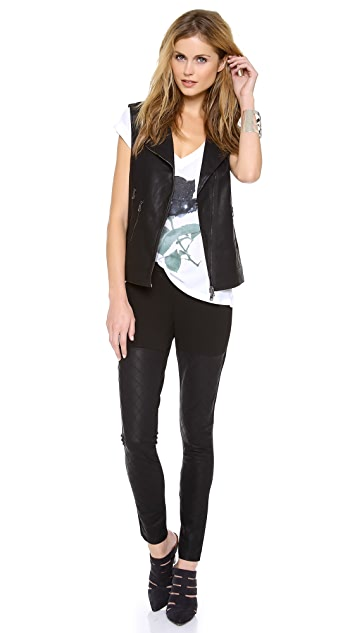 Dolce Vita Felixa Faux Leather Vest