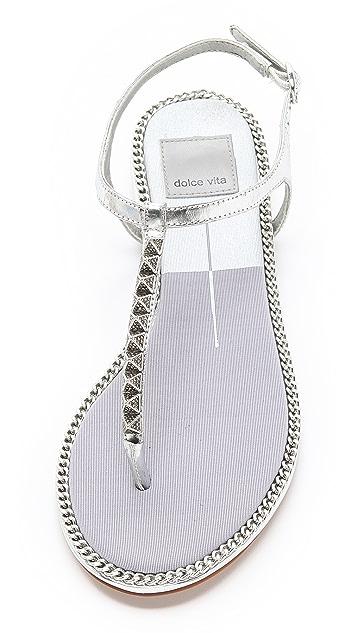 Dolce Vita Ensley Metallic Sandals