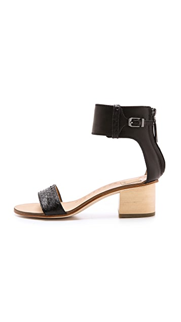 Dolce Vita Foxie Low Heel Sandals Shopbop
