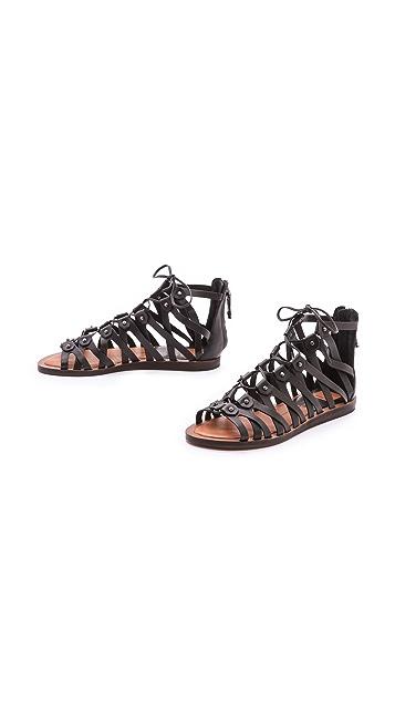Dolce Vita Fray Gladiator Sandals