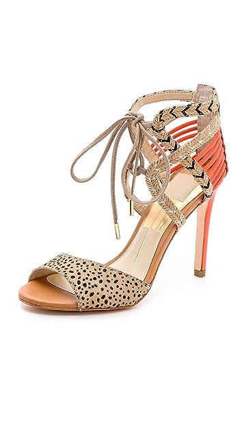 Dolce Vita Hexen Lace Up Haircalf Sandals