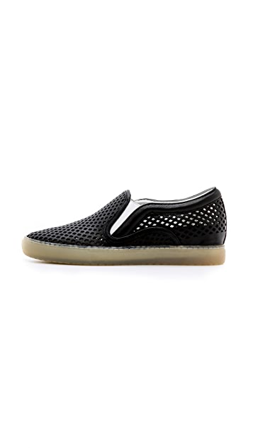 Dolce Vita Zaren Perforated Slip On Sneakers