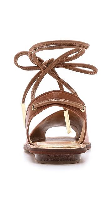 Dolce Vita Damalis Ankle Wrap Sandals